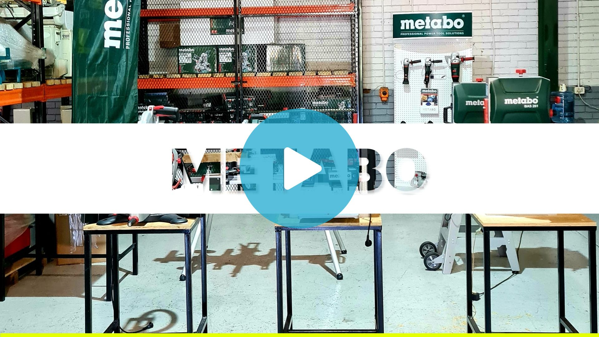 Metabo Products Video March 2021